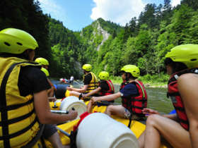 10 rafting dunajec