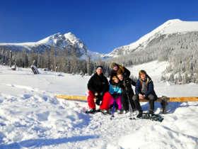Family Winter Holiday High Tatras Slovakia