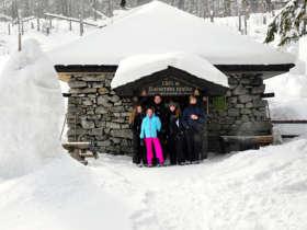 Winter Walking Rainerova Chata Hut High Tatras