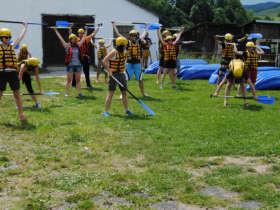 Rafting Dunajec Slovakia Summer Holiday