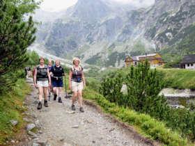 Walking Tatras Slovakia Summer Holiday