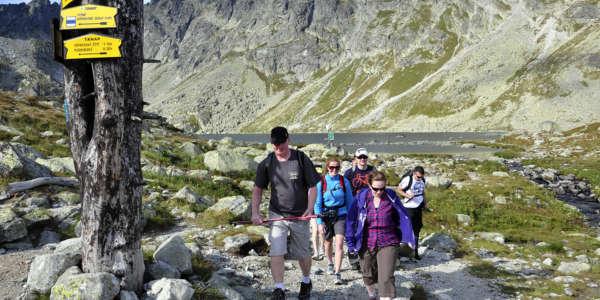 Tatras Hincovo Pleso Slovakia Summer Holiday