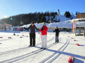 Cross Country Skiing Strbske Pleso Tatras