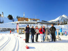 Skiing Strbske Pleso High Tatras