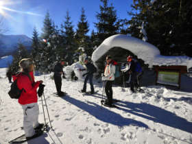 Snowshoeing High Tatras Slovakia