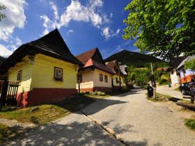 Vlkolinec slovakia unesco