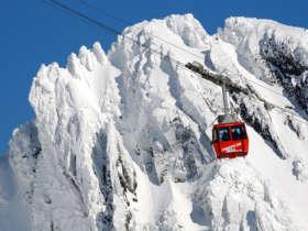 Cable Car Lomnicky Winter