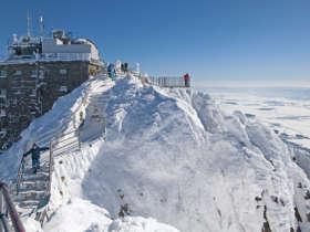 Lomnicky Stit High Tatras Winter