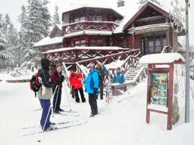 Cross Country Skiing Tatras Slovakia 2