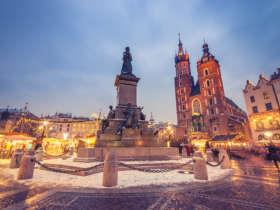 Krakow Winter Poland