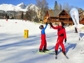 Slovakia Family Winter High Tatras 1