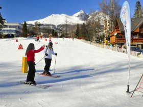Slovakia Family Winter High Tatras 2