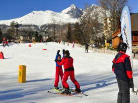 Slovakia Family Winter High Tatras 3