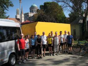 Cycling Esztergom Hungary