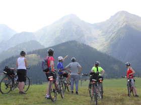 Cycling High Tatra Slovakia