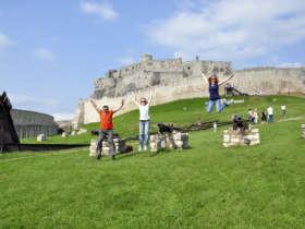 Slovakia Biking Spissky Castle Unesco