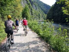 Slovakia Cycling Holiday Dunajec Path