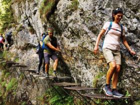 Prielom Hornadu Slovak Paradise Walking