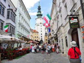 Bratislava michalska brana gate