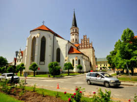Levoca st jacob church unesco