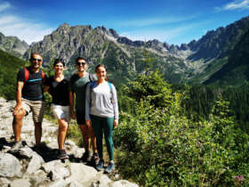 Walking tour high tatras