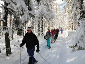 Snowshoeing High Tatras Slovakia Winter Holiday 1