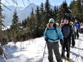 Snowshoeing High Tatras Slovakia Winter Holiday 9