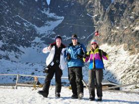 Skalnate Pleso Tatras Winter Holiday