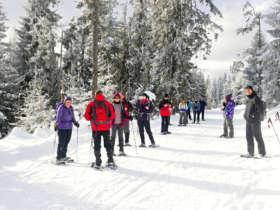 Snowshoeing High Tatras