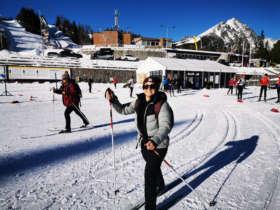 Strbske Pleso Skiing Slovakia