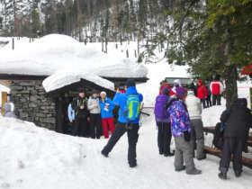 Winter Walk Rainerova Hut High Tatras