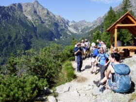 Walking In The High Tatras Mountain Huts