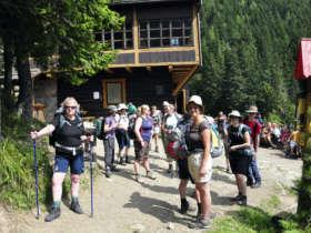Walking In The High Tatras Plesnivec Hut