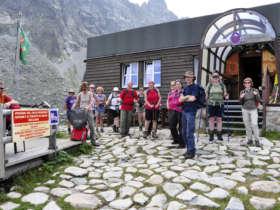 Walking In The High Tatras Zbojnicka Hut