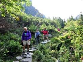 Walking Hiking Trekking High Tatras Slovakia 10