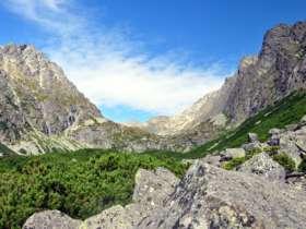 Walking Hiking Trekking High Tatras Slovakia 12