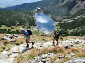 Walking Hiking Trekking High Tatras Slovakia 13