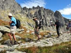 Walking Hiking Trekking High Tatras Slovakia 14