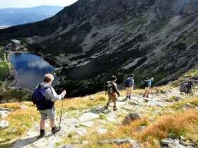 Walking Hiking Trekking High Tatras Slovakia 16