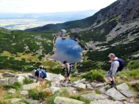 Walking Hiking Trekking High Tatras Slovakia 17