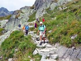 Walking Hiking Trekking High Tatras Slovakia 19