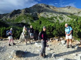 Walking Hiking Trekking High Tatras Slovakia 2