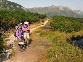 Walking Hiking Trekking High Tatras Slovakia 22