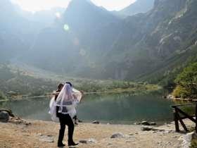 Walking Hiking Trekking High Tatras Slovakia 23