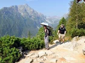 Walking Hiking Trekking High Tatras Slovakia 24