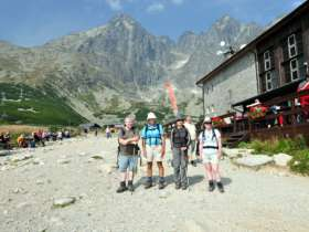 Walking Hiking Trekking High Tatras Slovakia 26