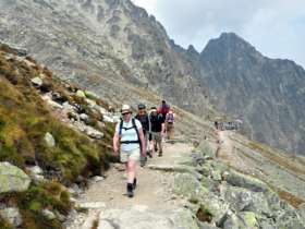 Walking Hiking Trekking High Tatras Slovakia 27