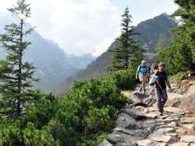 Walking Hiking Trekking High Tatras Slovakia 3