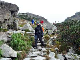 Walking Hiking Trekking High Tatras Slovakia 5