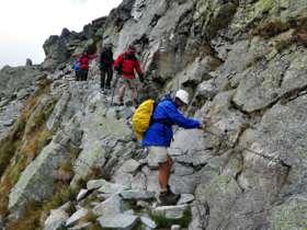 Walking Hiking Trekking High Tatras Slovakia 7